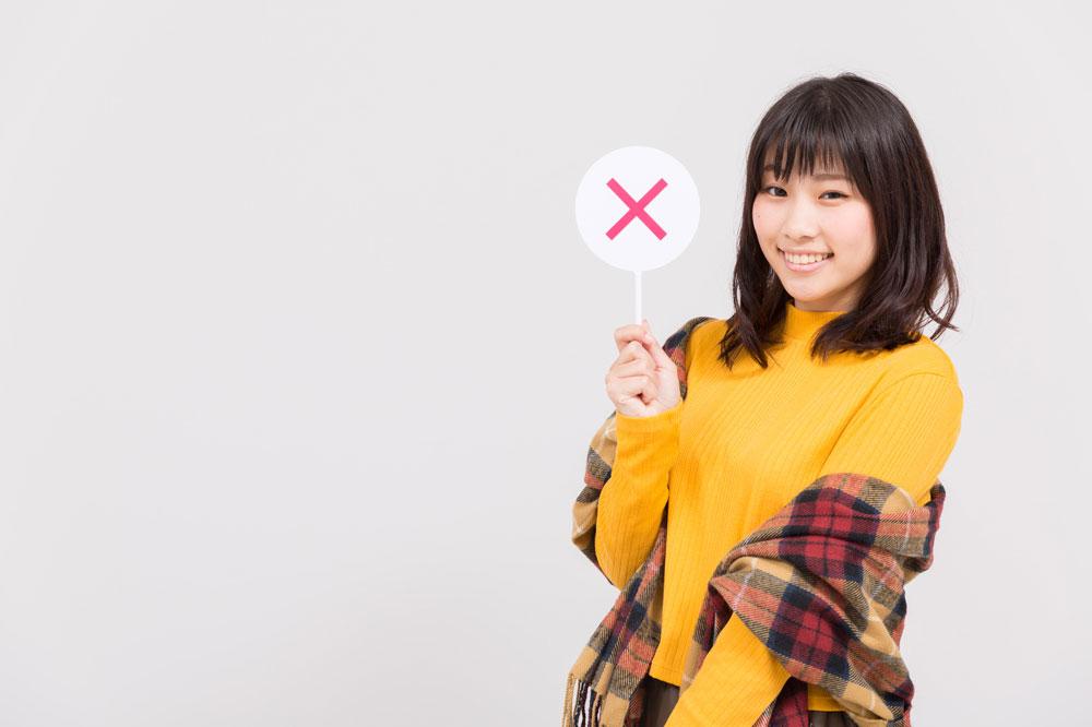 ウインザー効果を使うときに注意するべきポイントを紹介する女性