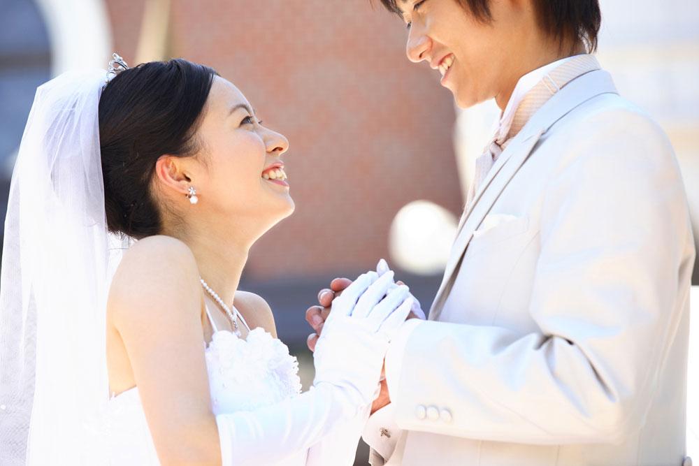 大恋愛を経て結婚した結婚式